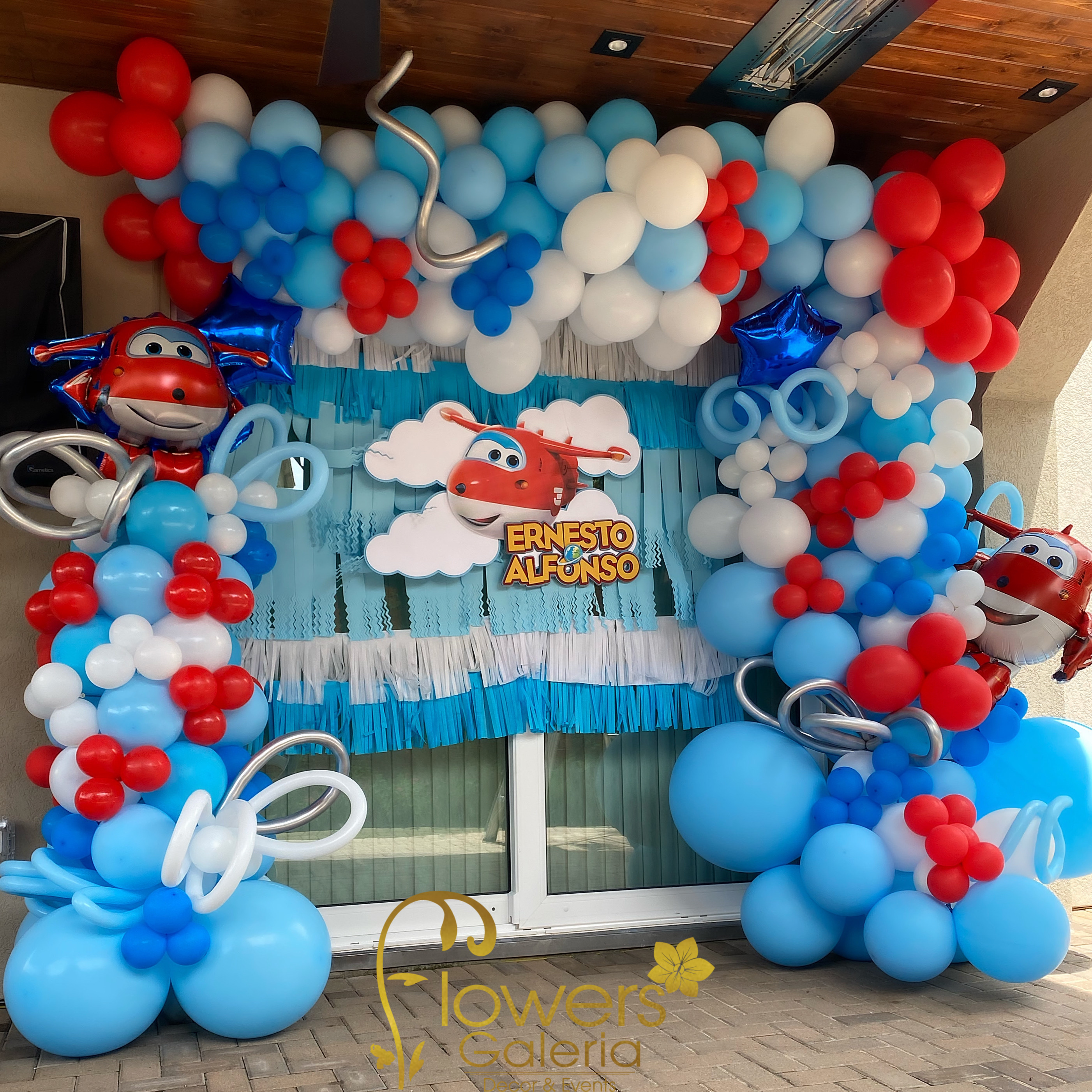 Super Wings Balloons $220