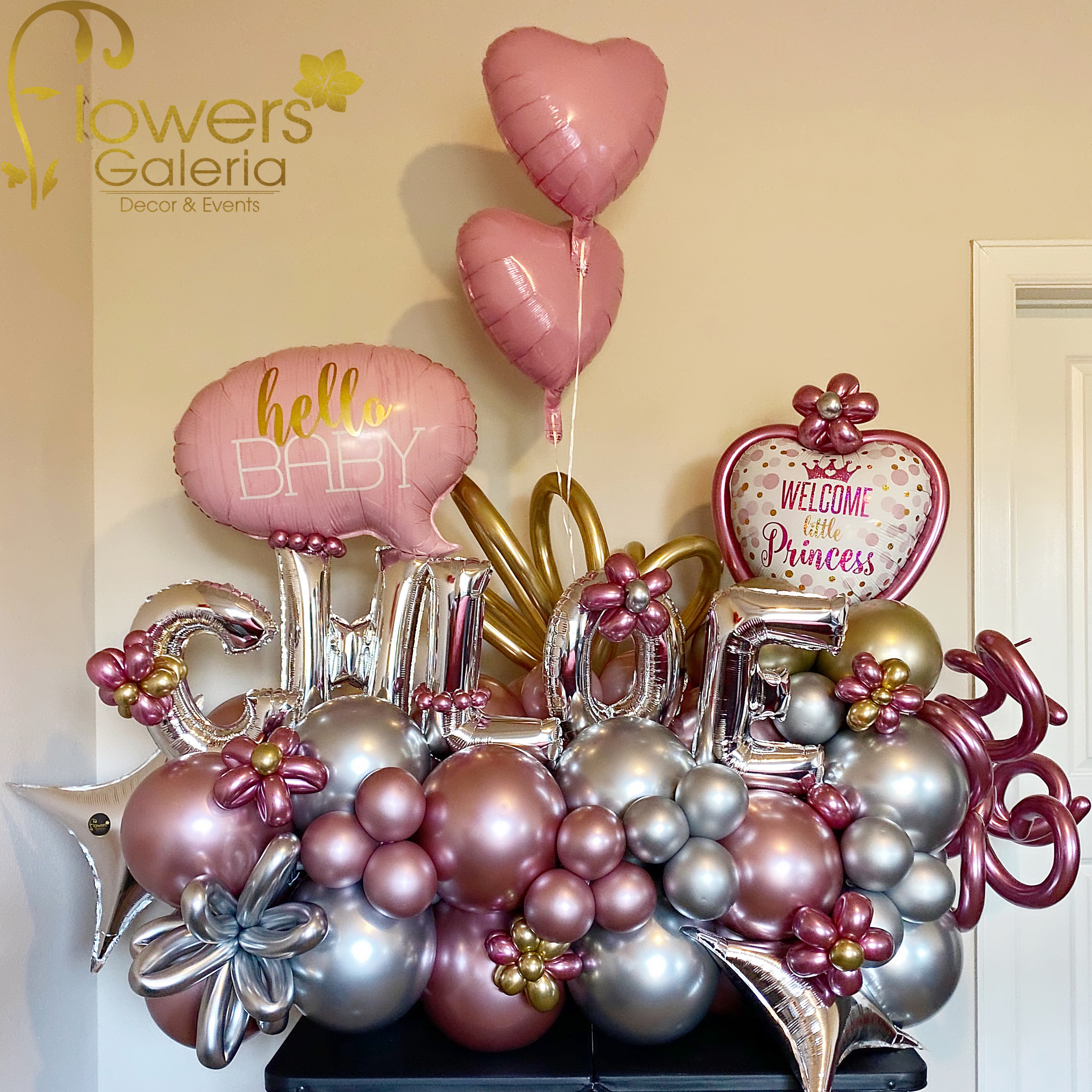 Welcome Balloons $150